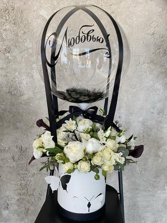 С любовью!  - купить цветы и аксессуары в интернет-магазине Дом цветов
