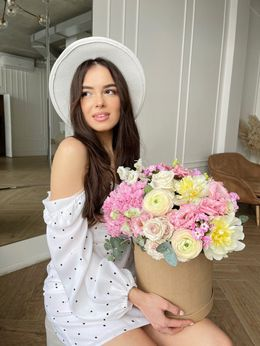 """Композиция """"Дыхание Весны"""" - купить цветы и аксессуары в интернет-магазине Дом цветов"""
