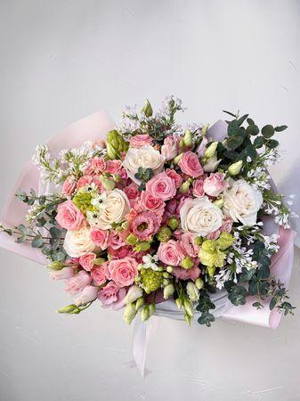 """Букет """"Райский сад""""  - купить цветы и аксессуары в интернет-магазине Дом цветов"""