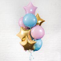 Композиция из шаров №4 - купить цветы и аксессуары в интернет-магазине Дом цветов